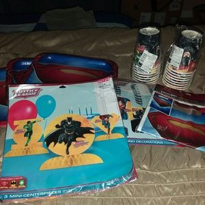 Other - Justice league party set